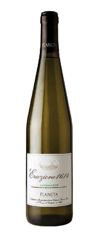 Eruzione 1614 Carricante, vino bianco, Azienda Planeta
