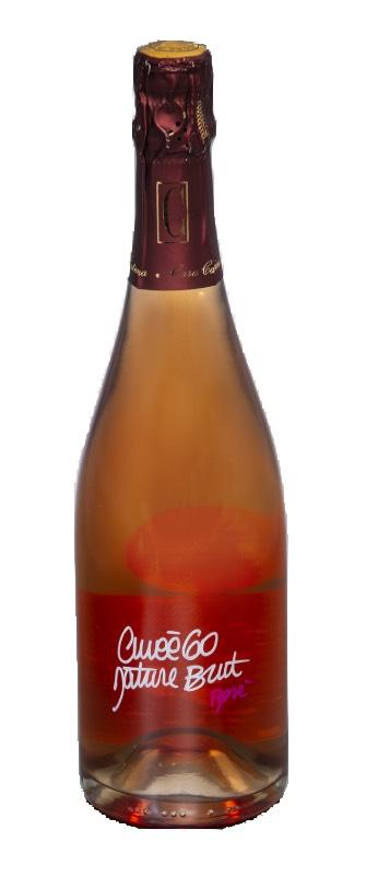 bottiglia brut curvee rosè