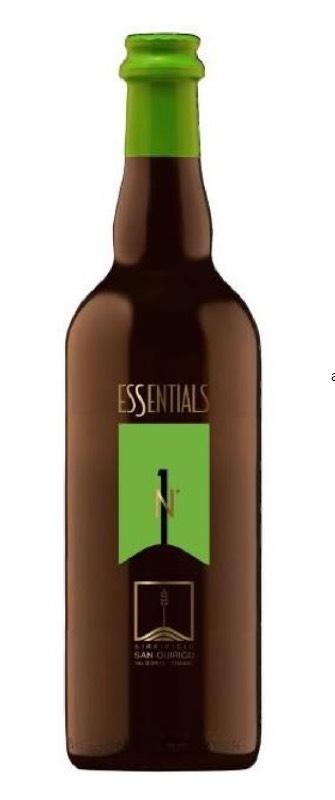 Essential n.1, birra chiara ad alta fermentazione